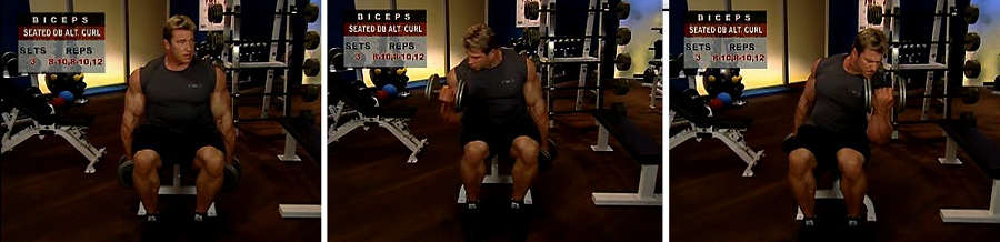 آموزش بدنسازی کات کردن جلو بازو (تفکیک)