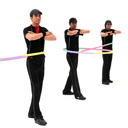 آموزش ورزش با حلقه
