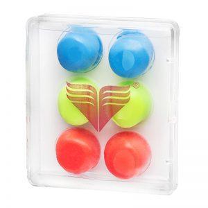 گوش گیر شنا تیر مدل Ear Plug Childrens Assorted بسته 6 عددی