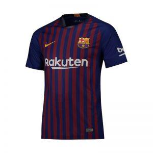 پیراهن اول تیم بارسلونا مدل 19-2018
