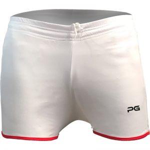 جدیدترین مدلهای انواع شورت ورزشی مردانه و زنانه پرگان مدل پارس سفید با بهترین قیمت