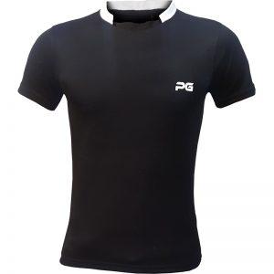 جدیدترین مدلهای انواع تیشرت ورزشی آستین کوتاه مردانه و زنانه پرگان مدل آسا مشکی با بهترین قیمت