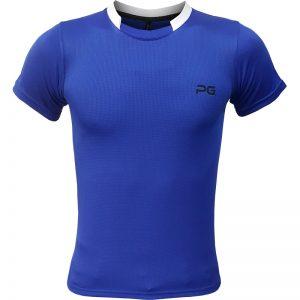 جدیدترین مدلهای انواع تیشرت ورزشی آستین کوتاه مردانه و زنانه پرگان مدل آسا آبی با بهترین قیمت