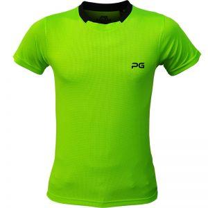 جدیدترین مدلهای انواع تیشرت ورزشی آستین کوتاه مردانه و زنانه پرگان مدل آسا سبز با بهترین قیمت