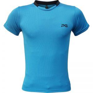 جدیدترین مدلهای انواع تیشرت ورزشی آستین کوتاه مردانه و زنانه پرگان مدل آسا آبیروشن با بهترین قیمت