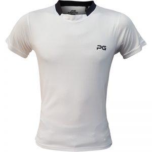 جدیدترین مدلهای انواع تیشرت ورزشی آستین کوتاه مردانه و زنانه پرگان مدل آسا سفید با بهترین قیمت