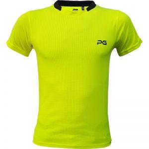 جدیدترین مدلهای انواع تیشرت ورزشی آستین کوتاه مردانه و زنانه پرگان مدل آسا زرد با بهترین قیمت