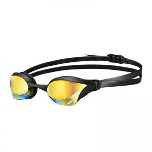عینک شنا آرنا سری Racing مدل Cobra Ultra Mirror مشکی Arena Racing Cobra Ultra Mirror Black Swimming Goggles