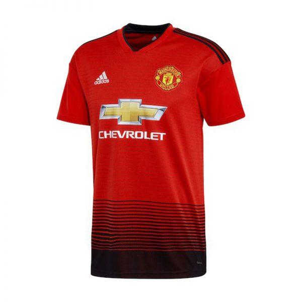 پیراهن اول تیم منچستر یونایتد مدل 19-2018