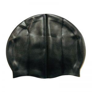 کلاه شنای شینا مدل سیلیکونی ساده براق Shina Plain Silicone Glossy Swim Cap For Men and Women
