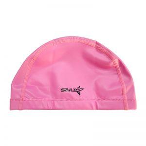 کلاه شنای شینا مدل پارچه ای ساده Shina Cloth Swim Cap For Men and Women