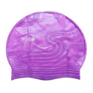 کلاه شنا شینا مدل سیلیکونی طرح برجسته Shina Swim Hat Silicone Embossed Design