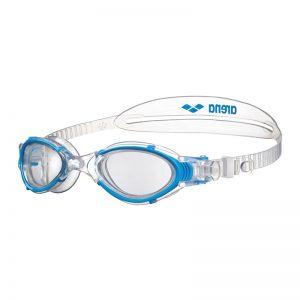 عینک شنا زنانه آرنا سری Training مدل Nimesis Crystal آبی Arena Blue Training Nimesis Crystal Swimming Goggles For Woman