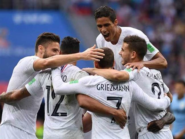 بازیکنان فرانسه