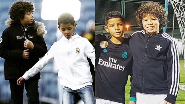 فرزندان مارسلو و رونالدو