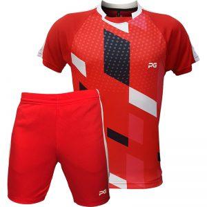 جدیدترین مدلهای انواع ست ورزشی مردانه و زنانه پرگان مدل افرا قرمز با بهترین قیمت