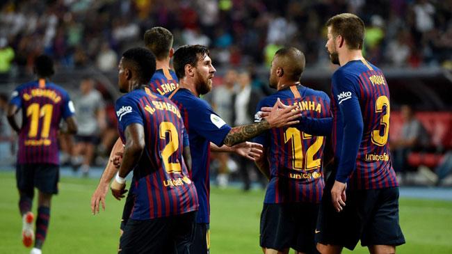 بازیکنان بارسلونا