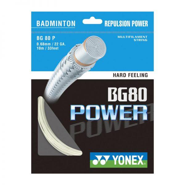 زه بدمینتون یونکس مدل BG80 Power Yonex BG80 Power Badminton String
