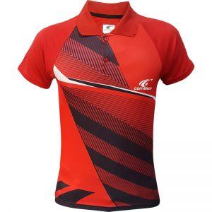 جدیدترین مدلهای انواع پولوشرت ورزشی آستین کوتاه مردانه و زنانه کورنلیو مدل قرمز 2-4 با بهترین قیمت