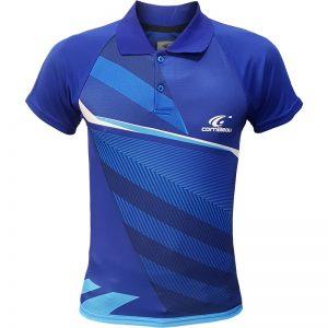 جدیدترین مدلهای انواع پولوشرت ورزشی آستین کوتاه مردانه و زنانه کورنلیو مدل آبی 4-4 با بهترین قیمت