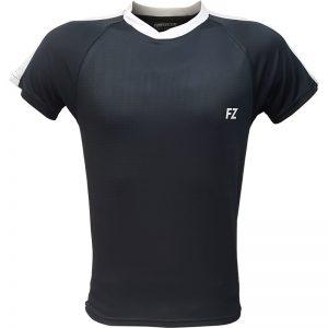 جدیدترین مدلهای انواع تیشرت ورزشی آستین کوتاه فورزا مدل سرشانه خطدار خاکستری با بهترین قیمت