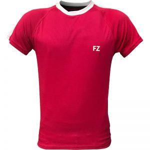 جدیدترین مدلهای انواع تیشرت ورزشی آستین کوتاه فورزا مدل سرشانه خطدار صورتی با بهترین قیمت