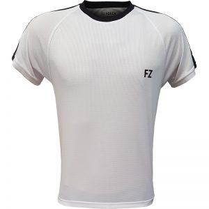 جدیدترین مدلهای انواع تیشرت ورزشی آستین کوتاه فورزا مدل سرشانه خطدار سفید با بهترین قیمت