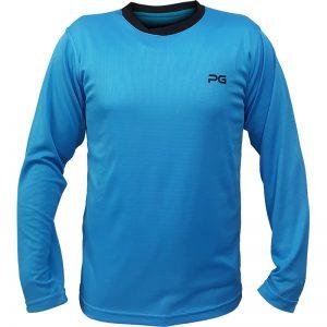 جدیدترین مدلهای انواع تیشرت ورزشی آستین بلند مردانه و زنانه پرگان مدل میسا آبیروشن با بهترین قیمت