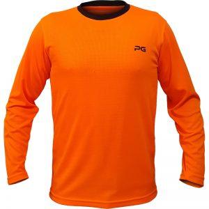 جدیدترین مدلهای انواع تیشرت ورزشی آستین بلند مردانه و زنانه پرگان مدل میسا نارنجی با بهترین قیمت