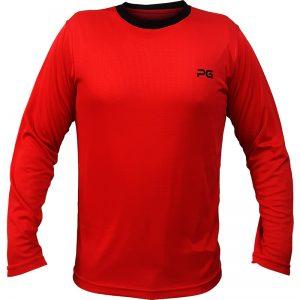 جدیدترین مدلهای انواع تیشرت ورزشی آستین بلند مردانه و زنانه پرگان مدل میسا قرمز با بهترین قیمت