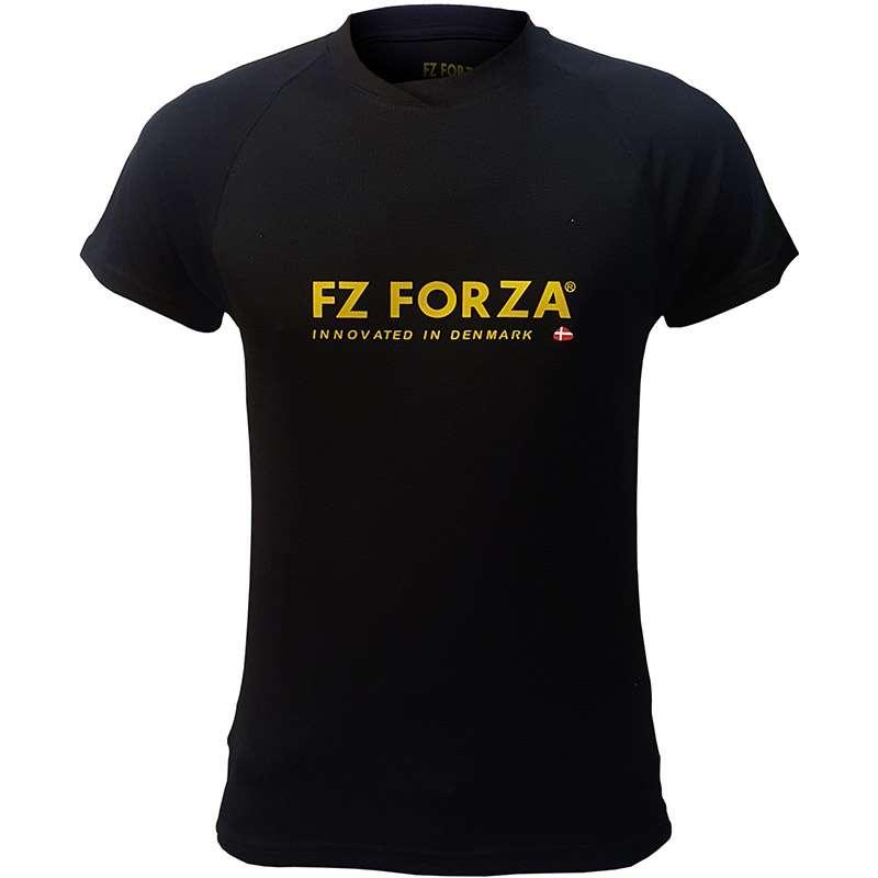 Tshirt-Sport-Fz-Forza-Badminton-Black-Men-Women-1