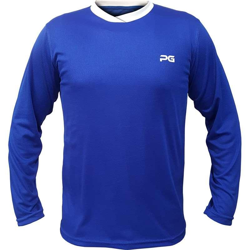 Tshirt-Sport-LongSleeve-Pargan-Blue-Men-women-1