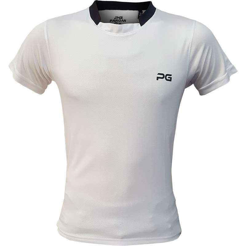 Tshirt-Sport-Pargan-White-Men-women1