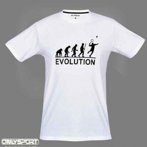 خرید لباس بدمینتون سفید فورزا Evolution