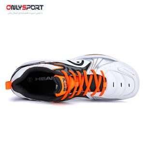 خرید کفش ورزشی head مدل 0153 سفید نارنجی