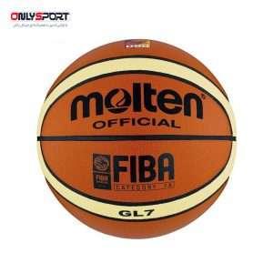 تصویر توپ بسکتبال مولتن سایز 5