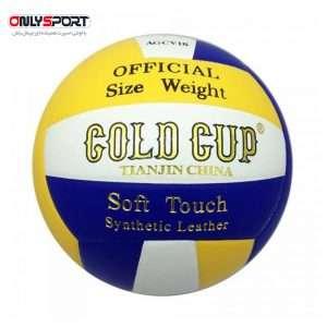 تصویر توپ والیبال گلد کاپ سایز 5