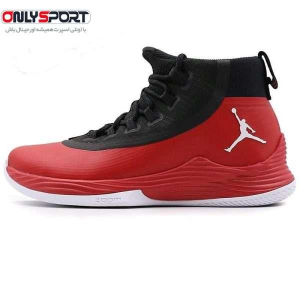 تصویر کفش بسکتبال جردن xcssقرمز مشکی
