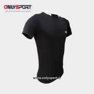 تصویر تیشرت ورزشی پرگان مدل آسا مشکی