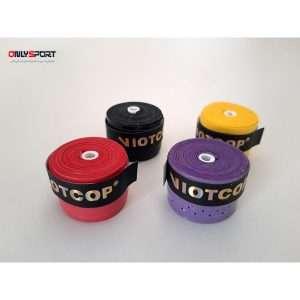 تصویر گریپ بدمینتون viotco نواردار رنگی بسته 30 عددی