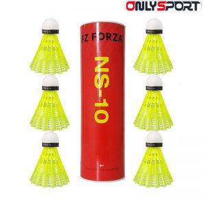توپ بدمینتون اصل فورزا 6عددی NS-10 متوسط زرد