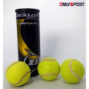 خرید توپ تنیس دانلوپ 3عددی مدل Fort Elite