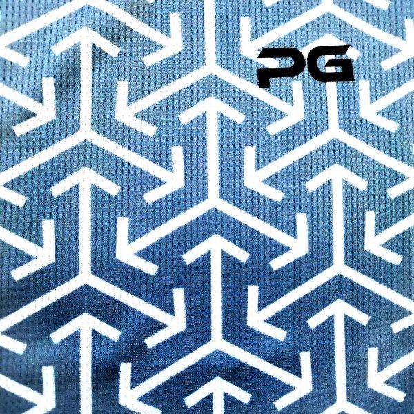 تیشرت پرگان مدل PG-T106 برفی فیروزه ای