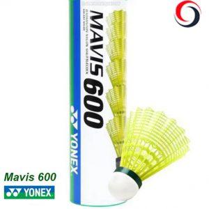 توپ بدمینتون یونکس Mavis 600 (بسته 6 عددی)